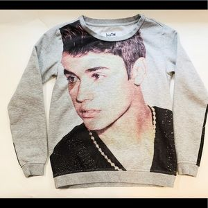 Justin Bieber Pullover Sweater